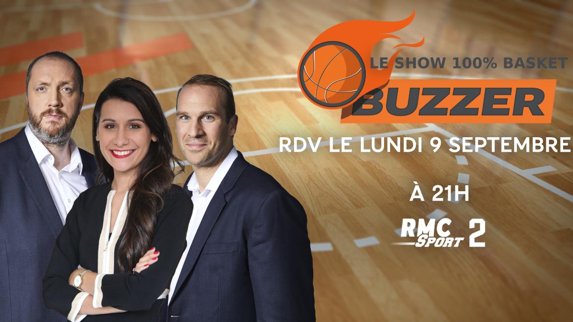 C Est La Rentree Pour Buzzer Sur Rmc Sport 2 Cholet Basket