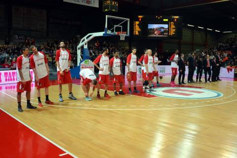 Cholet Basket/Reggio Emilia 21/01/2014
