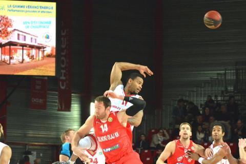 Cholet Basket/Szolnoki Olaj 29/01/2014