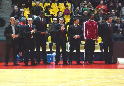Cholet Basket/Novo Mesto 11/02/2014