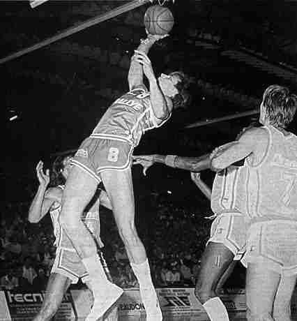 Cholet Basket/Villeurbanne 10/09/1986