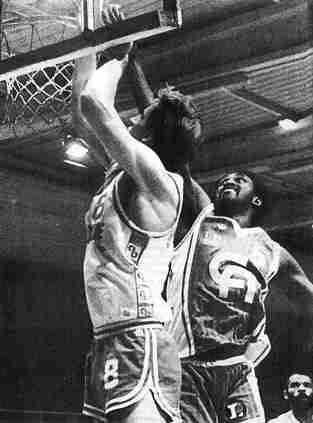 Cholet Basket/Nancy 26/11/1986