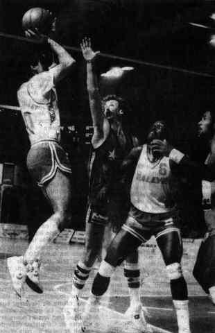 Cholet Basket/Voiron 06/12/1986