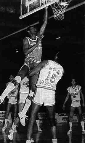 Cholet Basket/Le Mans 17/12/1986