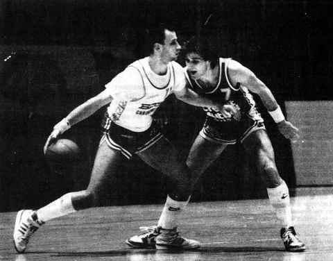 Nantes/Cholet Basket 24/01/1987