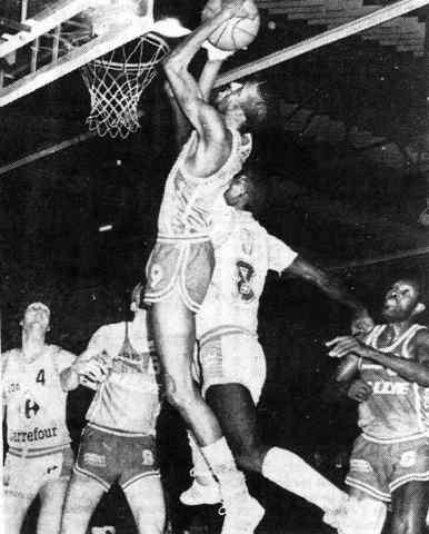 Cholet Basket/Dijon 31/01/1987