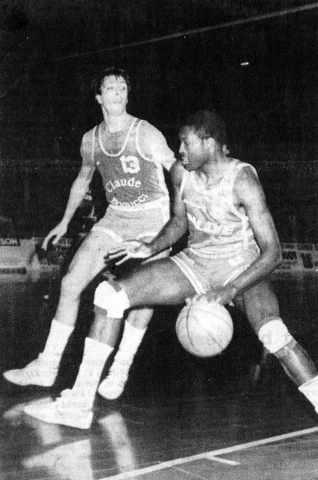 Cholet Basket/Nice 04/02/1987