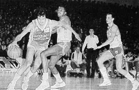 Cholet Basket/Reims 11/02/1987