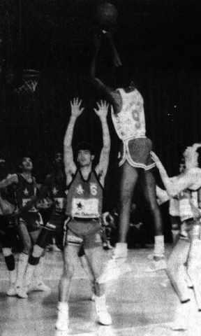 Voiron/Cholet Basket 14/02/1987