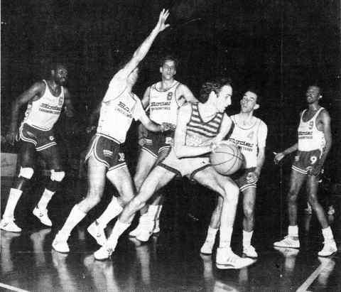 Le Mans/Cholet Basket 28/02/1987