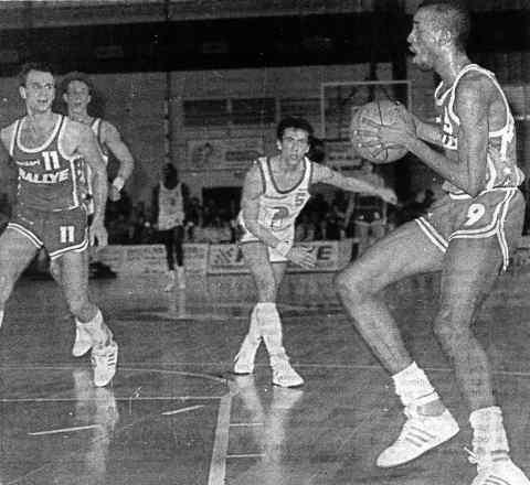 Cholet Basket/Caen 07/03/1987