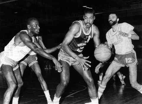 Cholet Basket/Grenoble 21/03/1987