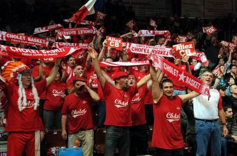 Cholet Basket/Regal FC Barcelone (Espagne) 27/10/2010