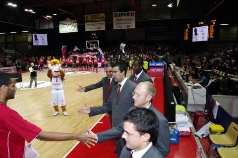 Cholet Basket/Lietuvos Rytas (Lituanie) 04/11/2010