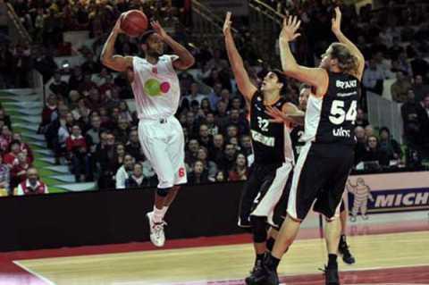 Cholet Basket/Ratiopharm Ulm (Allemagne) 07/11/2012