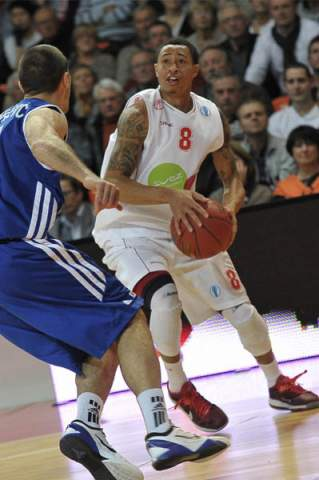 Cholet Basket/KK Cibona Zagreb (Croatie) 28/11/2012