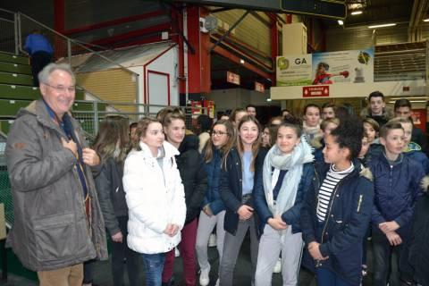 Visite 5èmes Collège Trémolières (04-05-16)