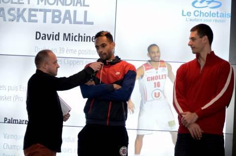 David MICHINEAU sera le parrain du 37e Cholet Mondial Basket