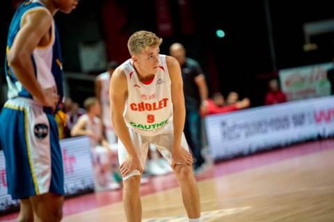 Academie Gautier Cholet Basket U21 - Levallois 29-09-18