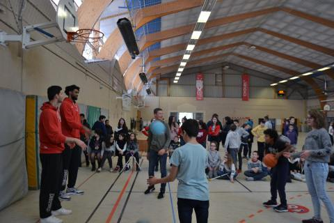 "La ""Minute Basket"" du Collège Colbert (22-01-19)"