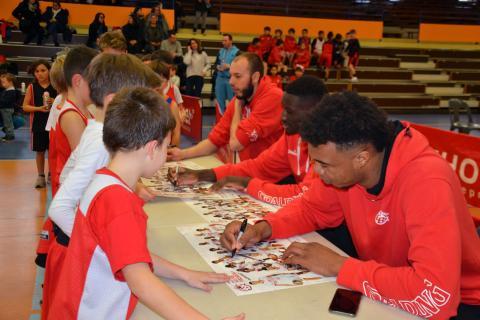 Kinder Day - Association Cholet Basket 19/12/18