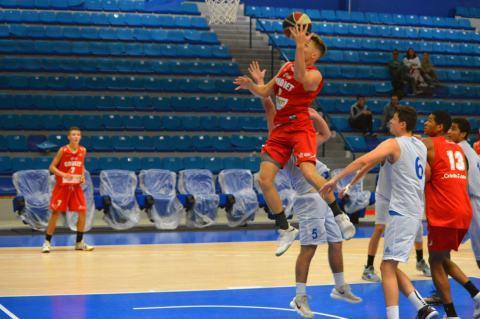 Academie Gautier Cholet Basket U18 - Quimper 30-09-18
