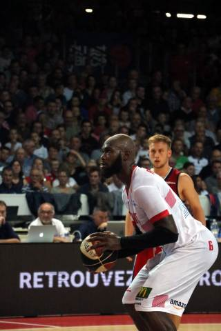 Cholet Basket - Strasbourg (22/09/18)