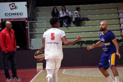 Academie Gautier Cholet Basket U21 - Antibes - 24-11-18