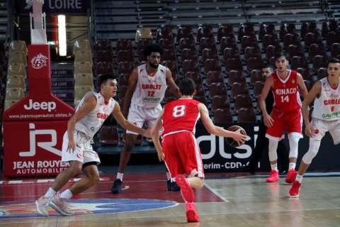 Academie Gautier Cholet Basket U21 - Monaco - 10-11-18