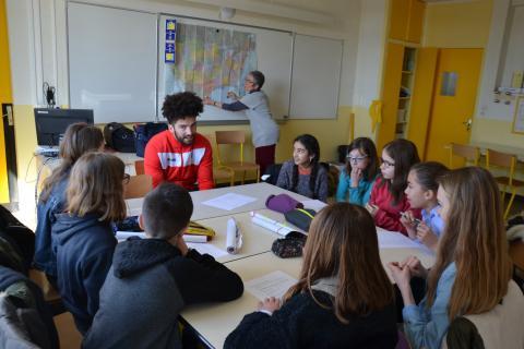 Session Pro cours d'anglais - Collège Sainte Marie de Torfou (25-03-19)