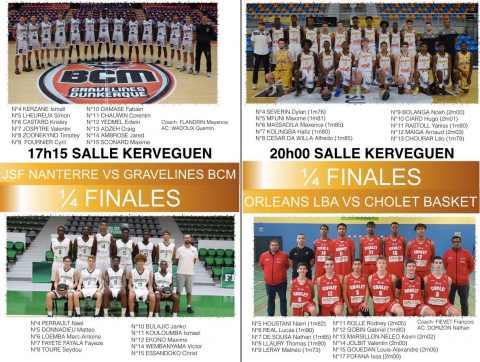 U18 (CADETS FRANCE) - Coupe De France 2017 U17