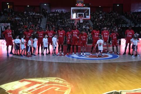 Bourg-en-Bresse vs Cholet Basket 11-02-20
