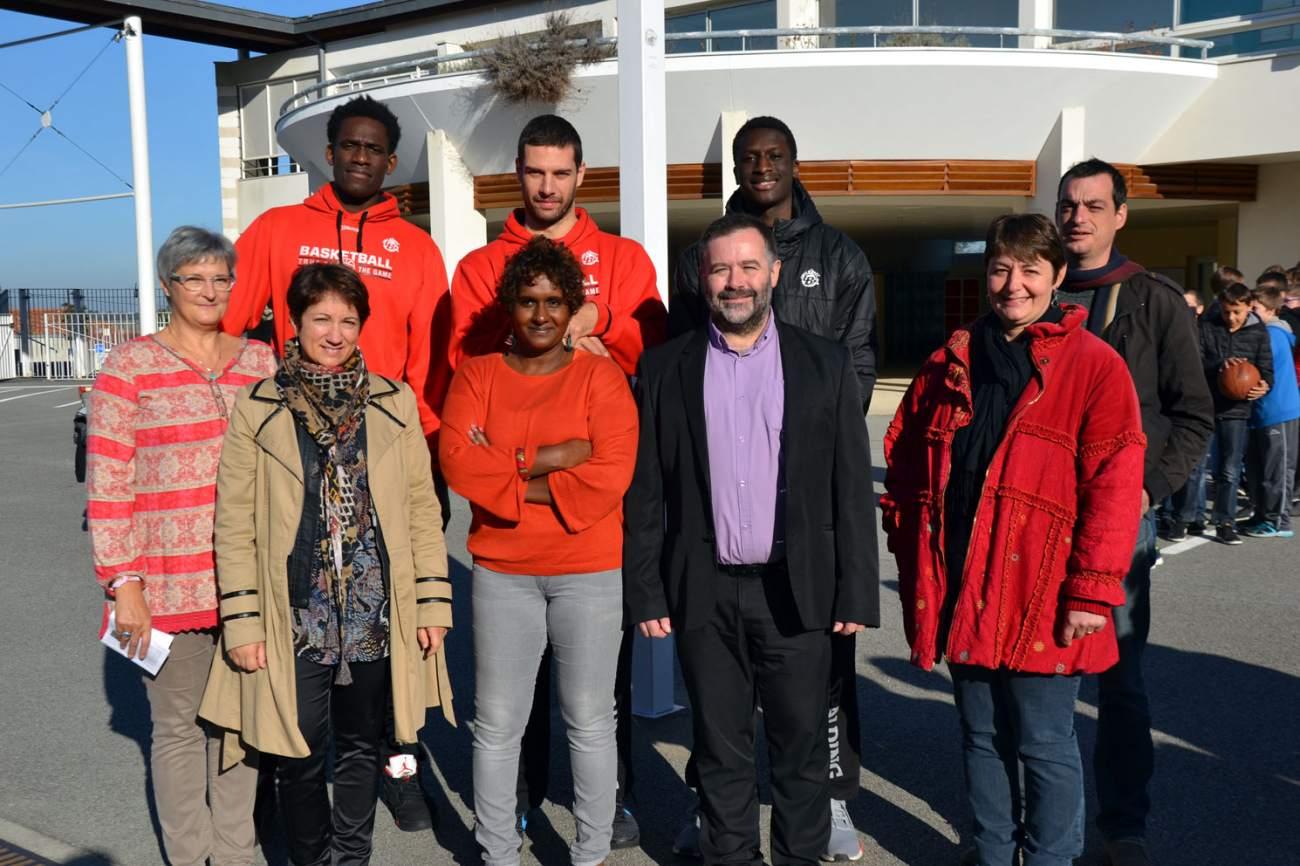 Visite Ecole Le Breloquet - Cholet 26-02-16