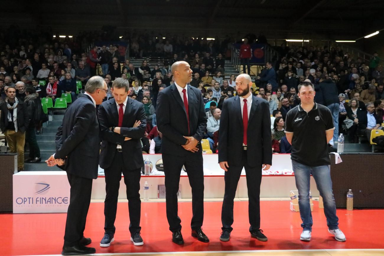 Coach et Assistants CB - © Simon Godet