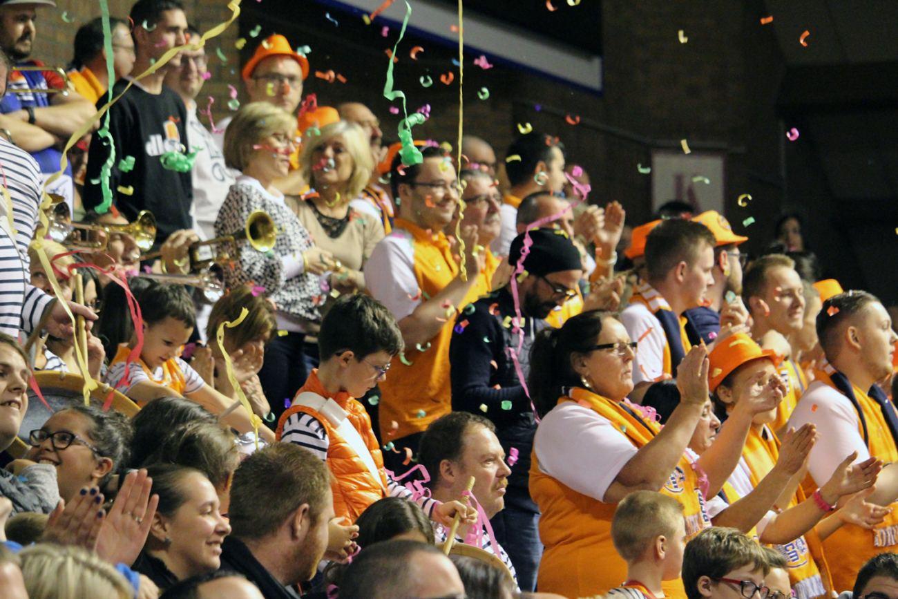 Supporters BCM Gravelines-Dunkerque © Julie Dumélié