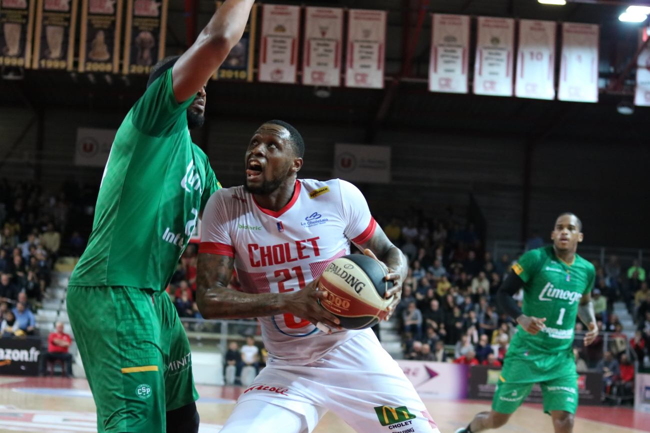 Frank Hassell vs Limoges CSP 13-04-19