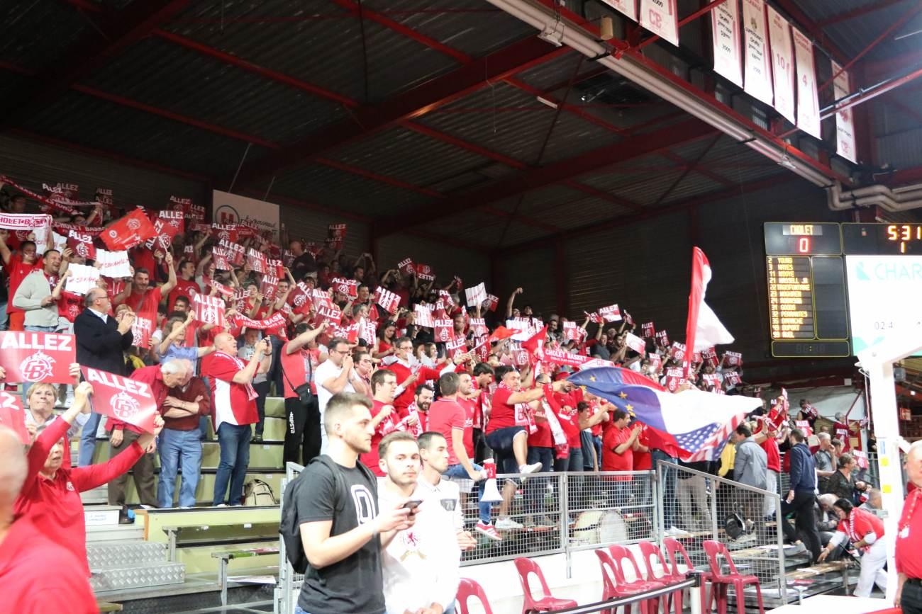 Supporters Cholet Basket © SIMON GODET