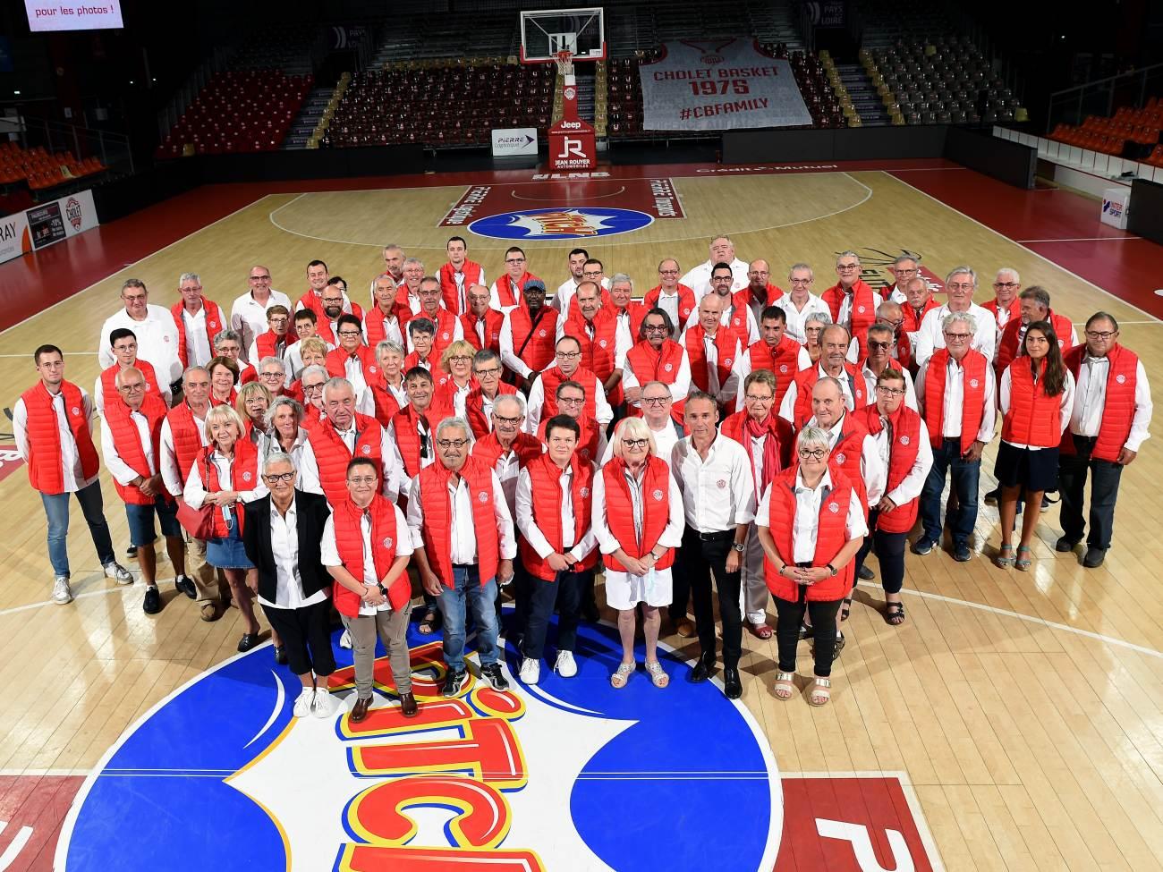 Les Bénévoles de Cholet Basket - © Etienne Lizambard