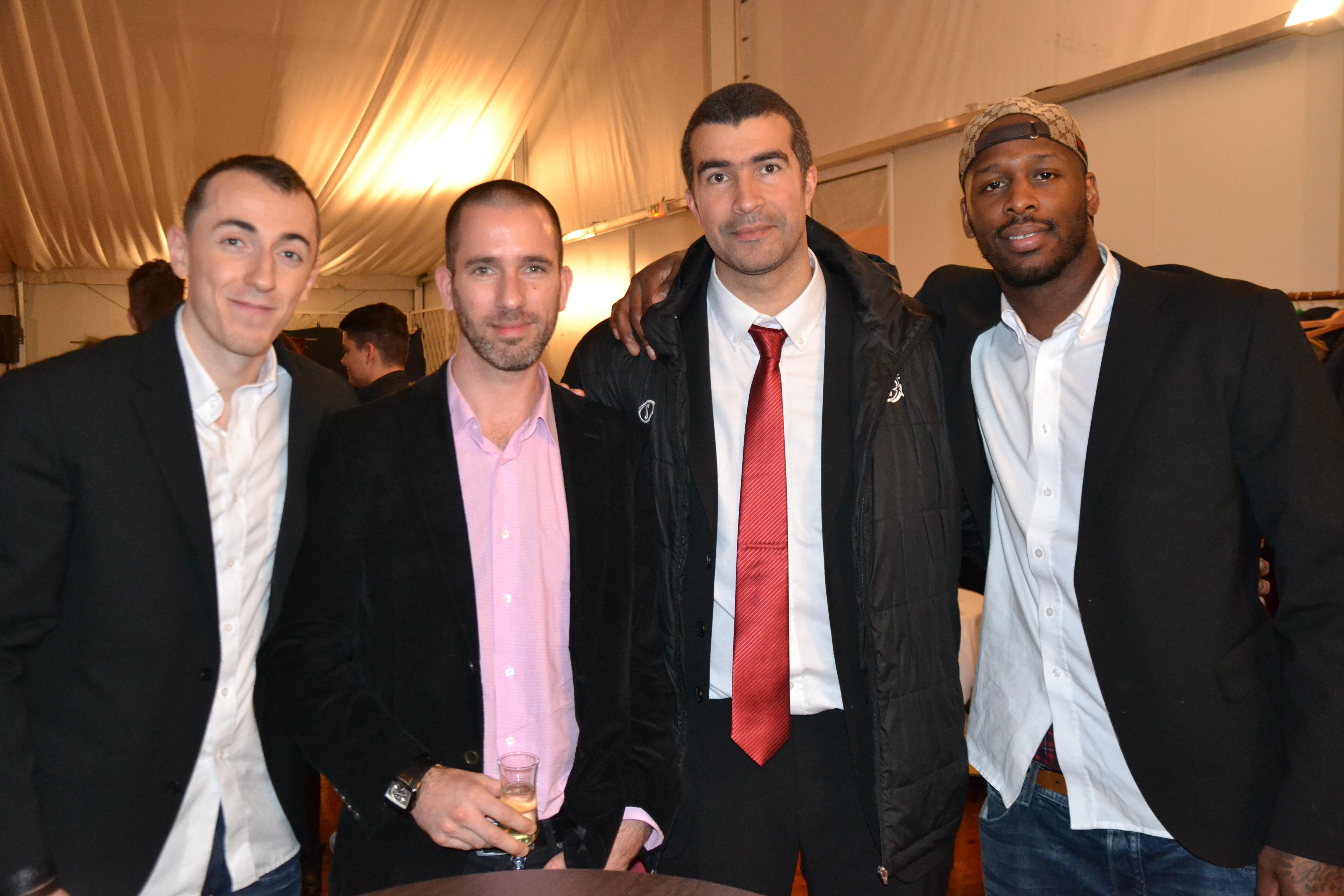 Jonathan ROUSSELLE, Jérôme NAVIER et Murphey HOLLOWAY