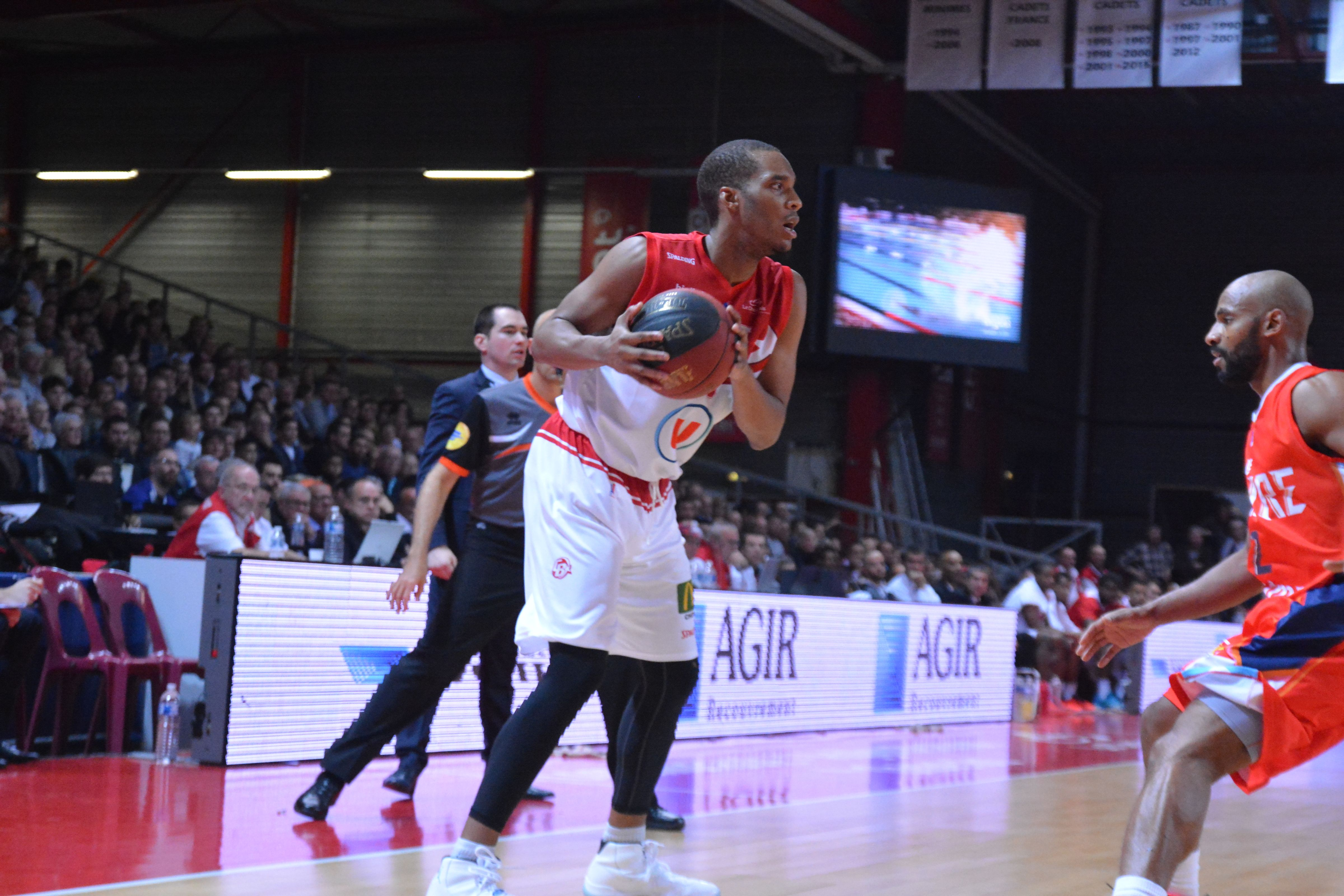 Match Cholet BASKET- STB Le Havre (05.12.15)
