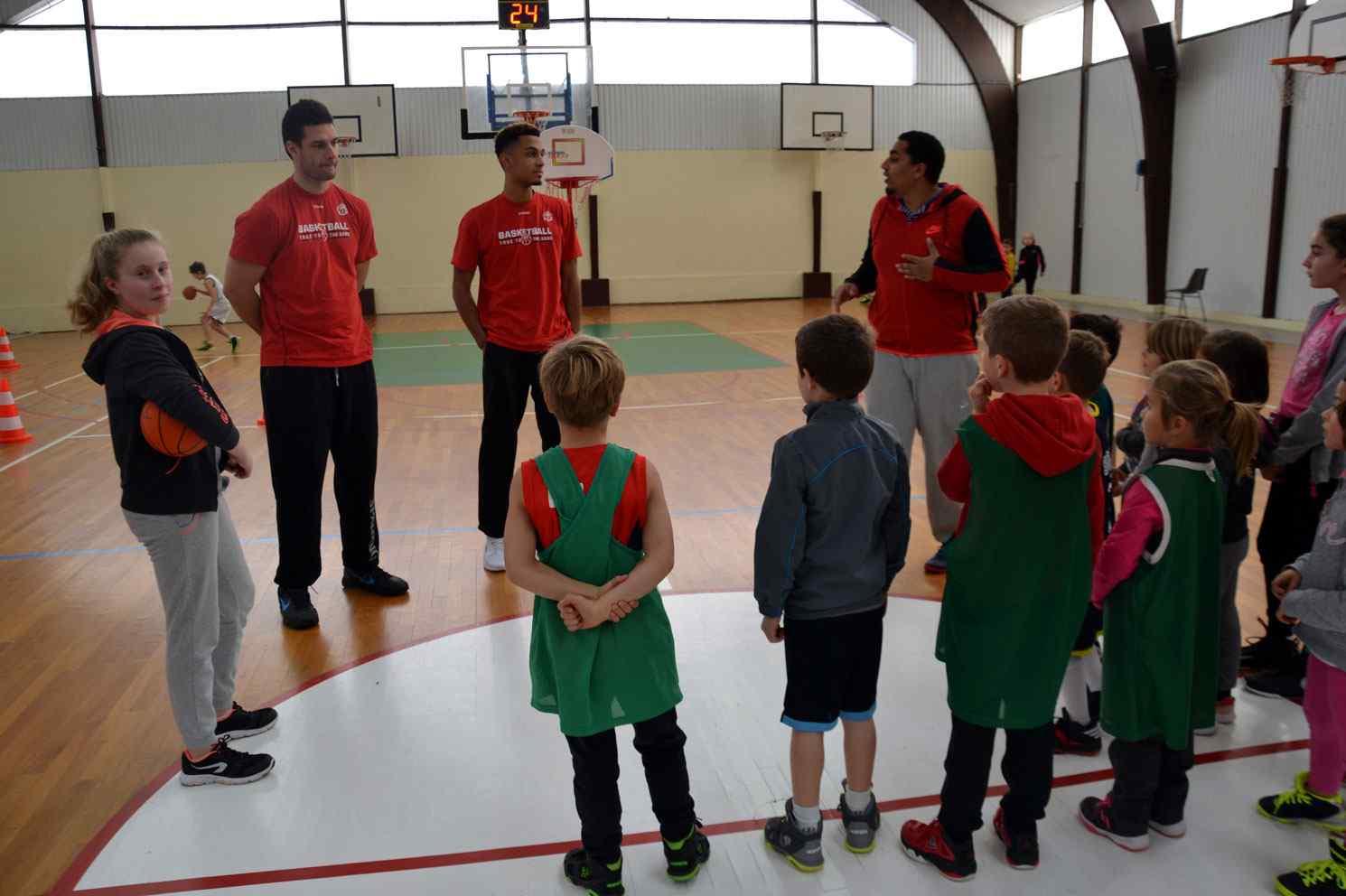 Entraînement des jeunes de Trémentines avec Ilian Evtimov et Johan Clet