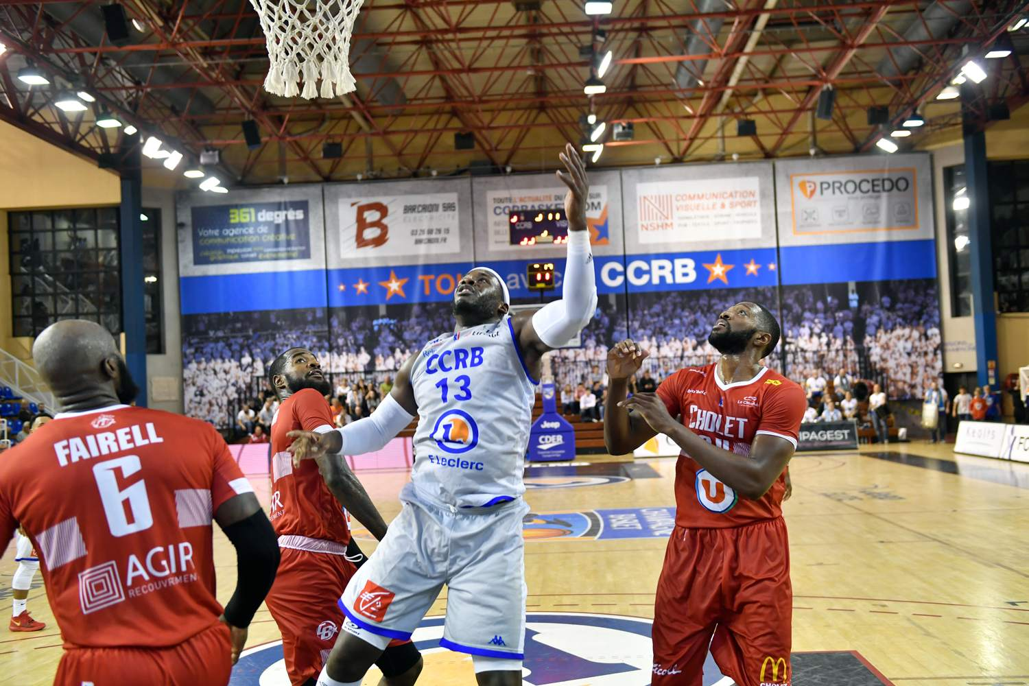 Cholet Basket © DOMINIQUE BILLY