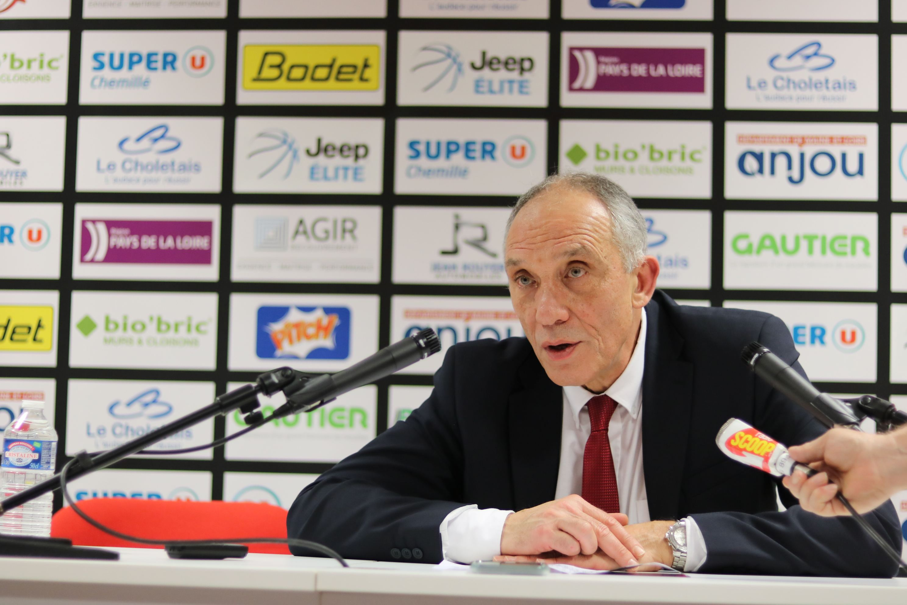 Conférence de presse KUNTER Erman - © Simon Godet