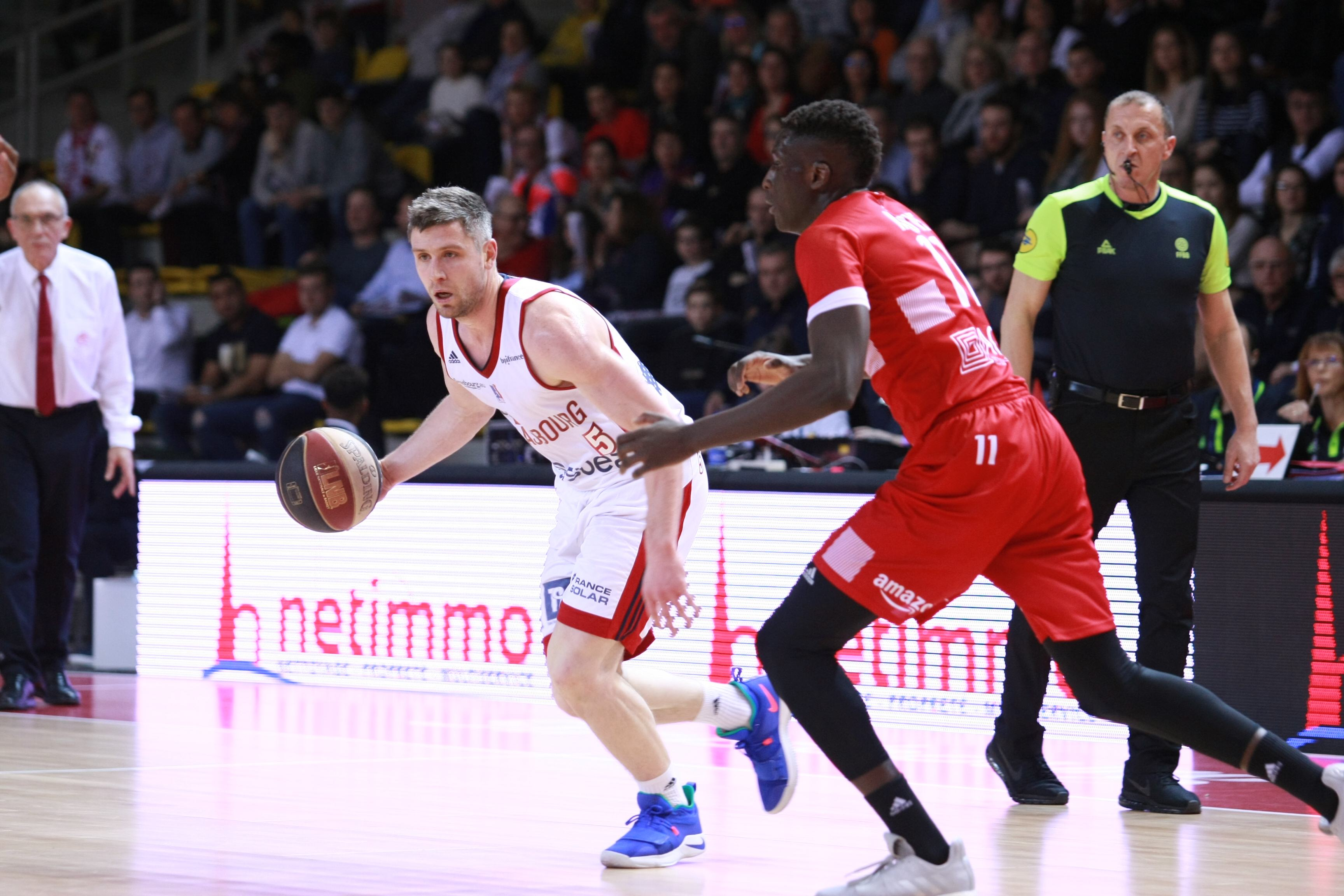 Strasbourg IG - Cholet Basket (02/02/19)