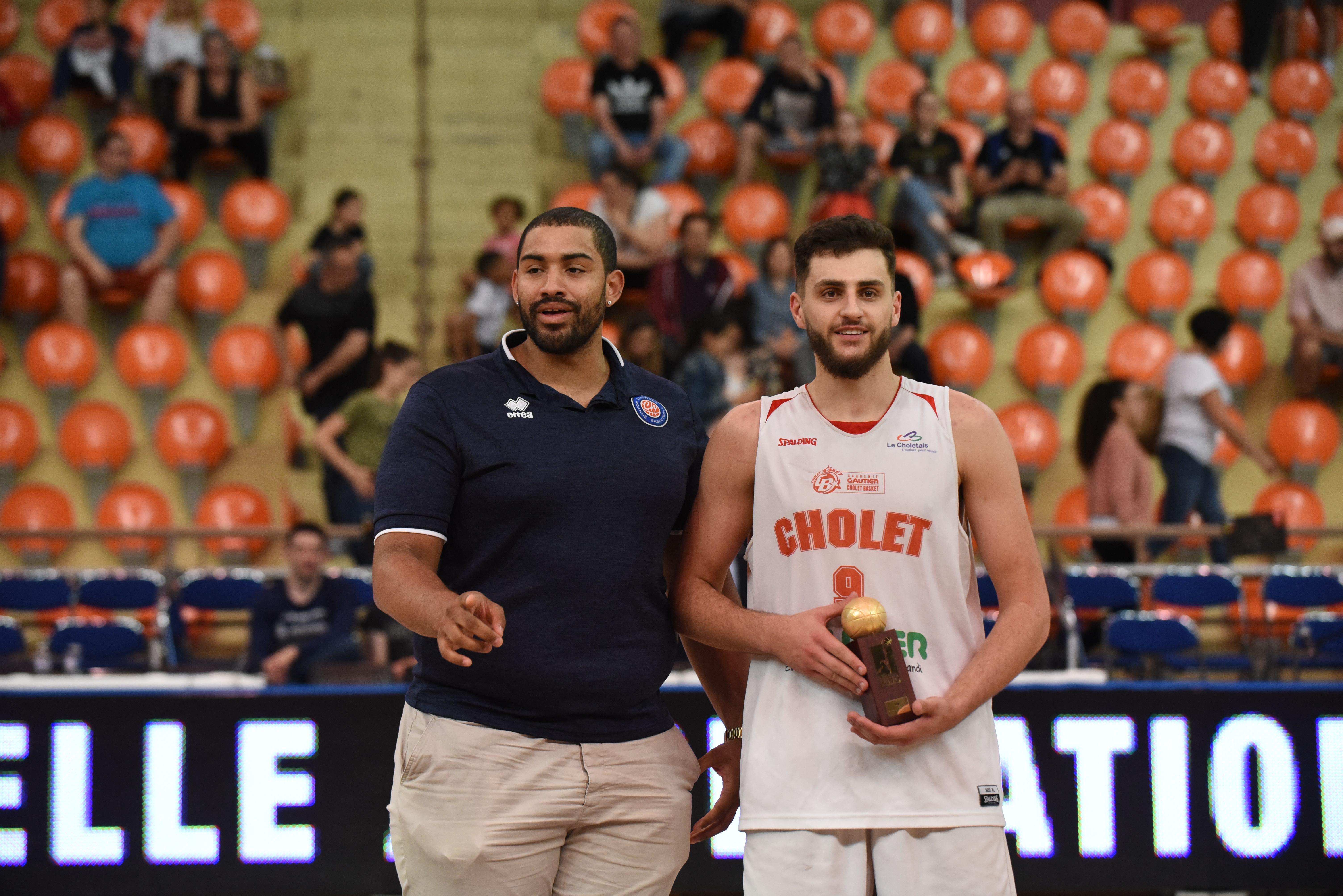 Quentin RUEL, MVP du Trophée du Futur © JDA Dijon