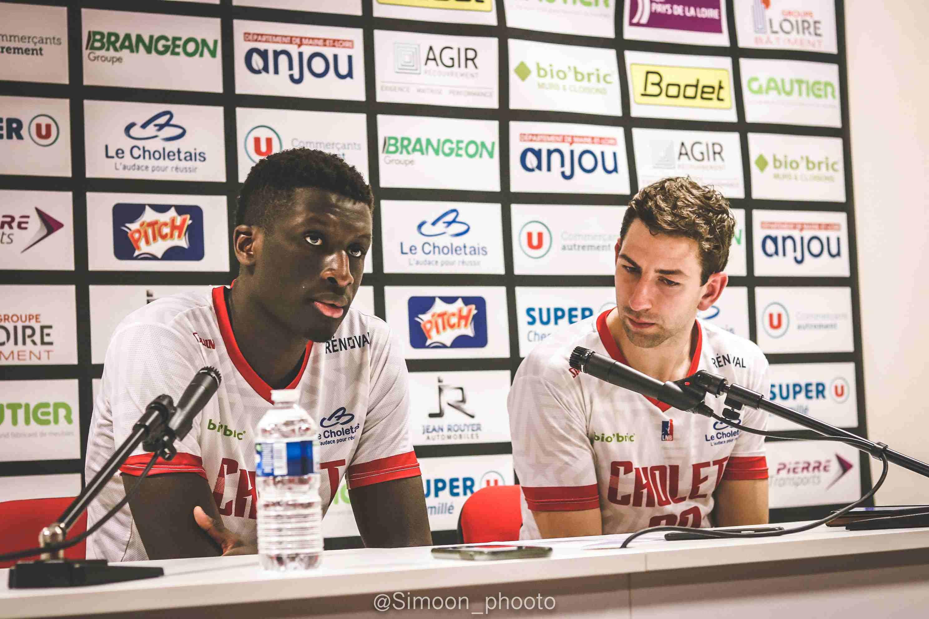 Abdoulaye N'DOYE et Michael STOCKTON - © Simon Godet