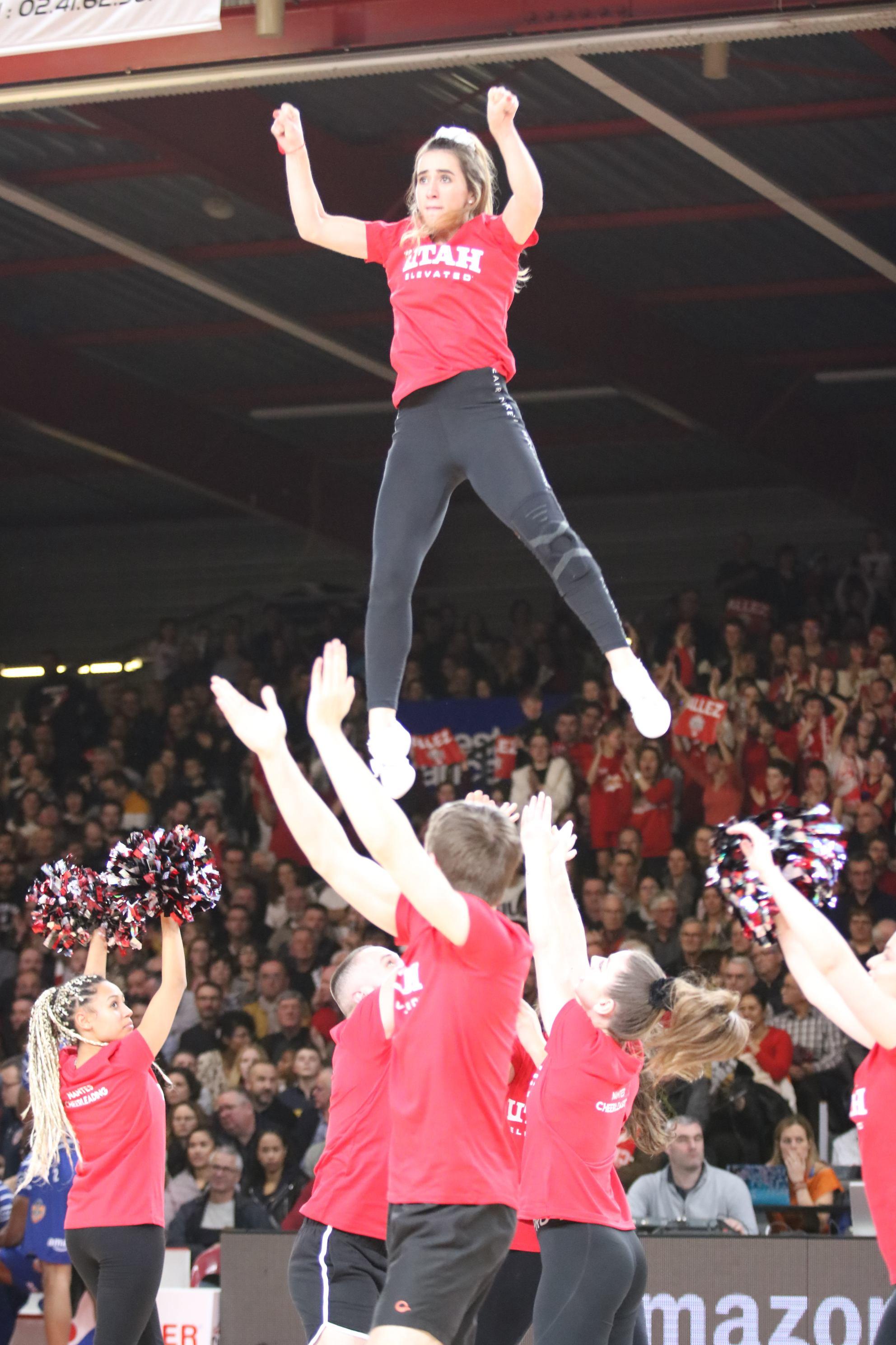 Les Royalti - Nantes Cheerleading vs Gravelines