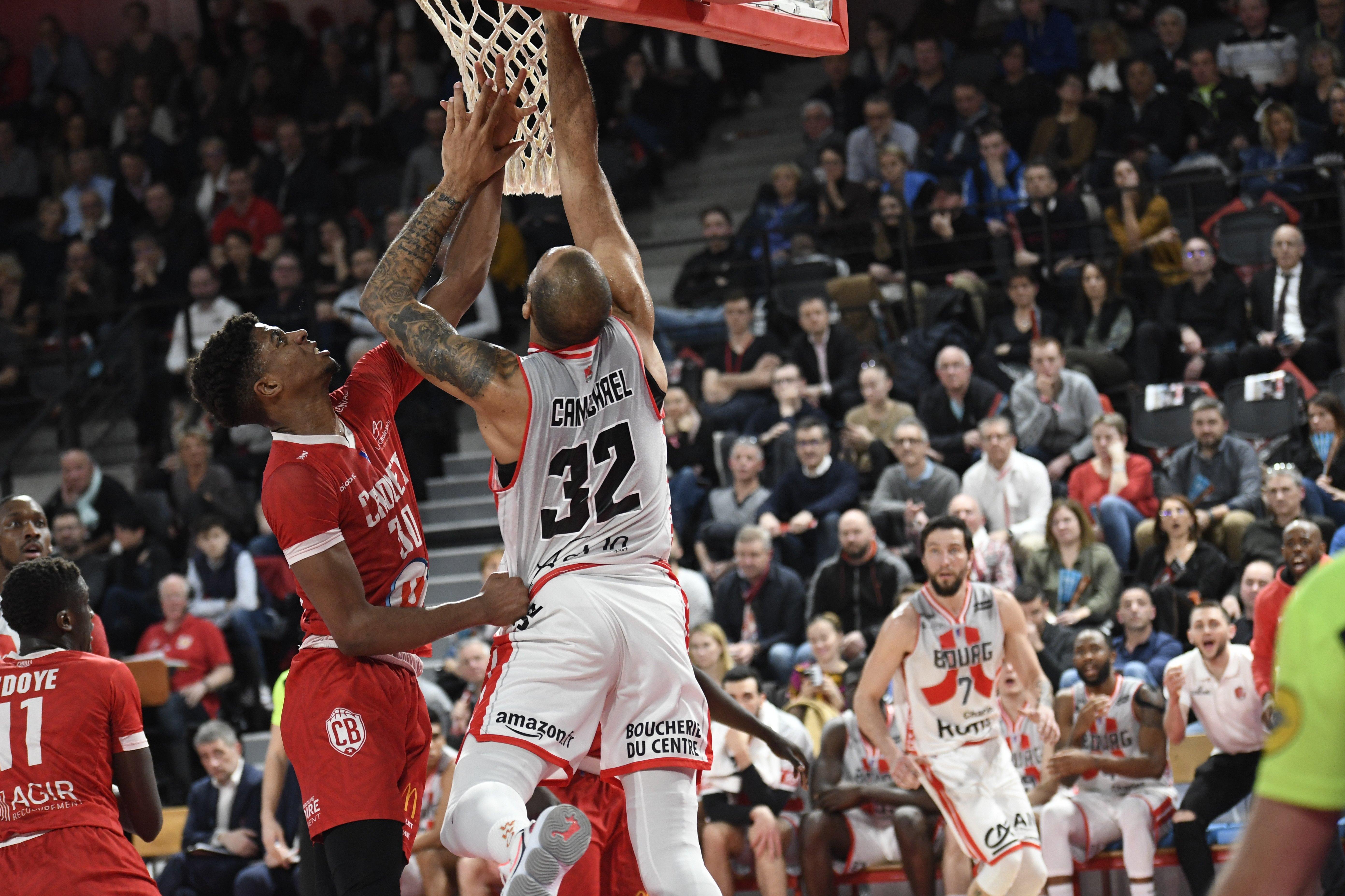 Cholet vs Bourg-en-Bresse 11-02-20