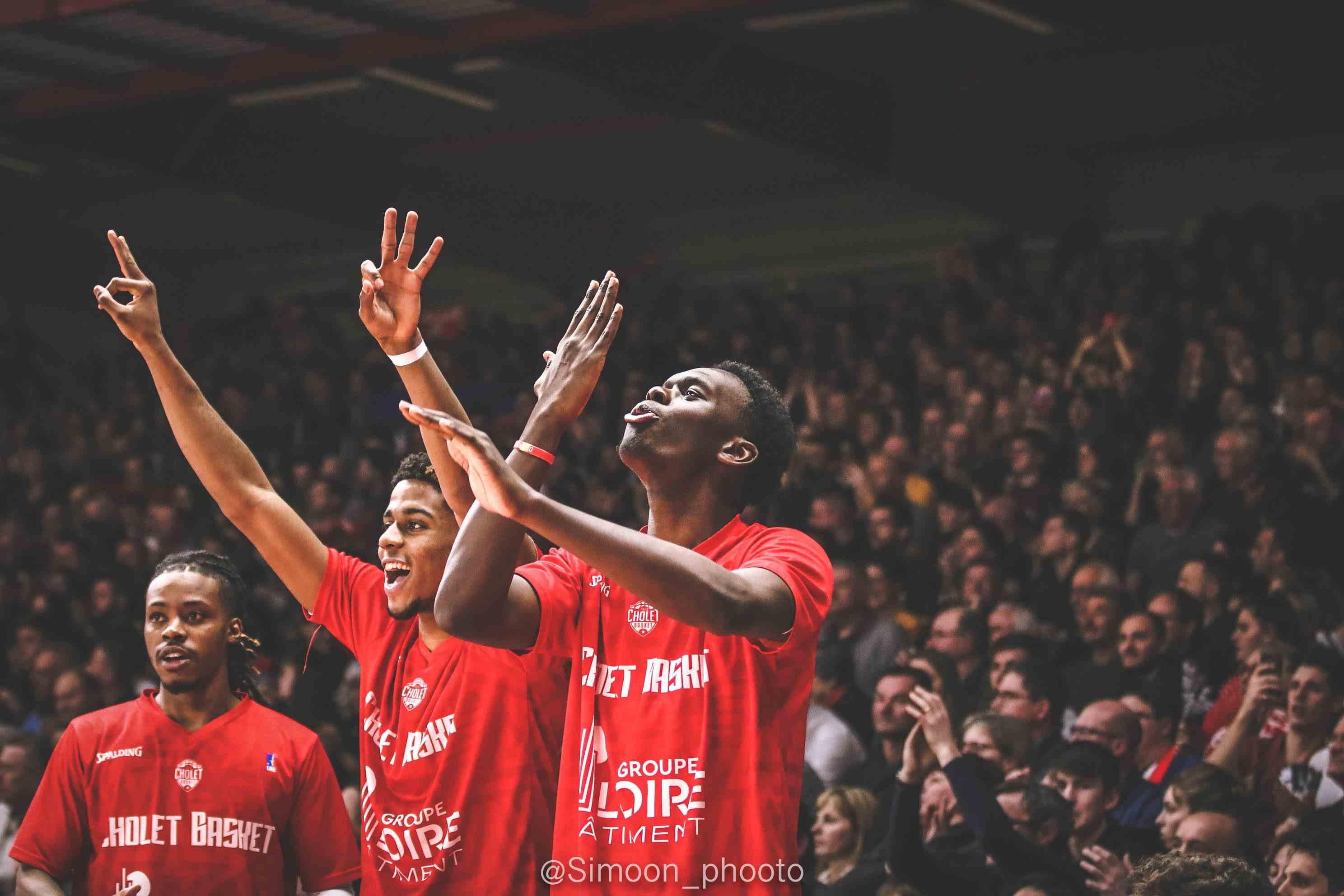 Jalen Riley, Karlton Dimanche et Yoan Makoundou - © SIMON GODET